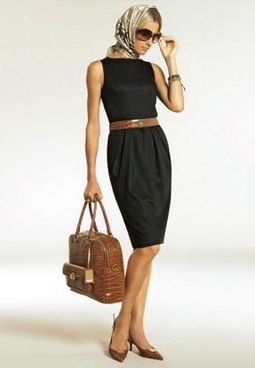 черное платье классика