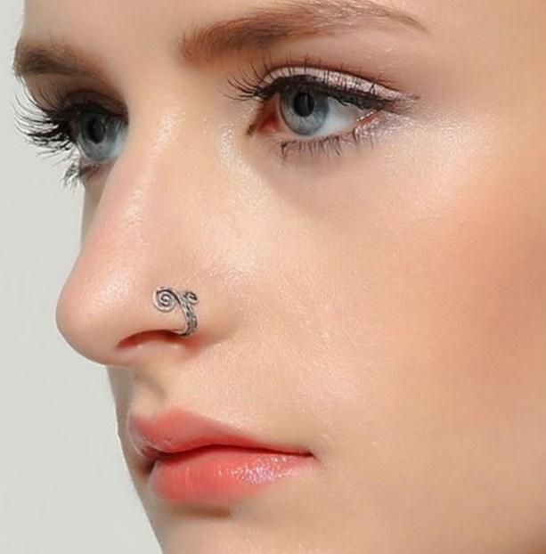 пирсинг носа