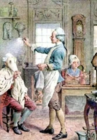 пудра в 18 веке