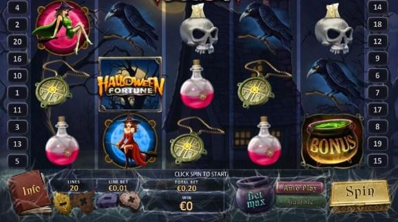 Игровой автомат Хэллоуин от Азарт Плей.  фото 2