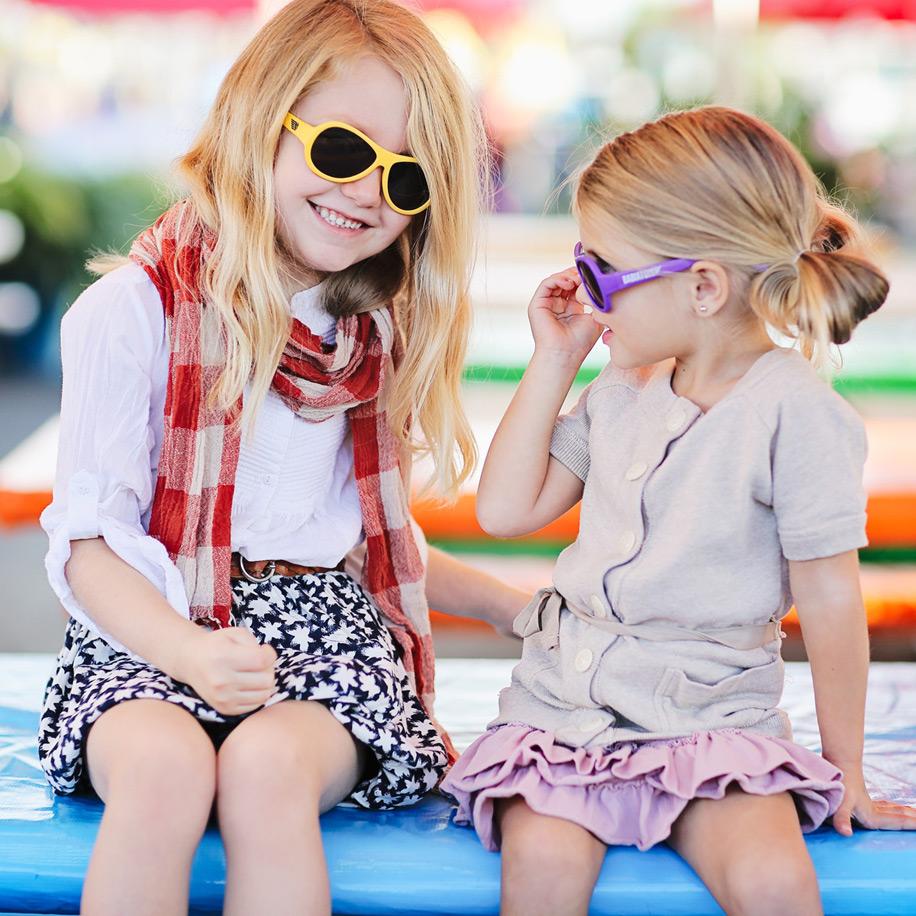 Зачем детям солнцезащитные очки