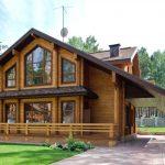 деревянные дом