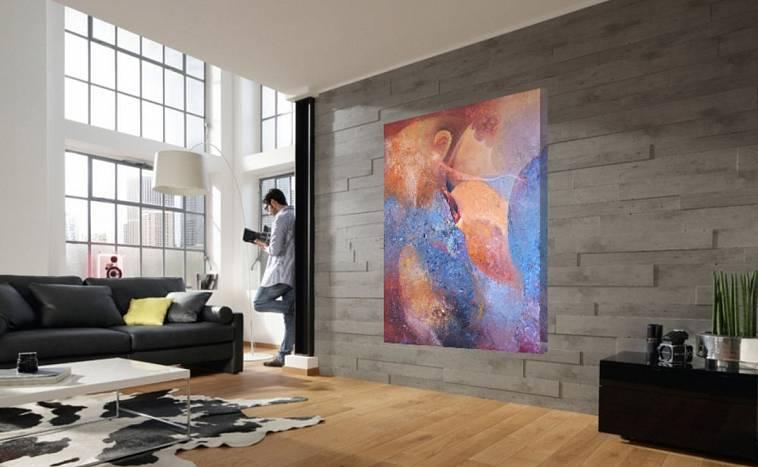 Соединить воедино искусство и дизайн комнаты