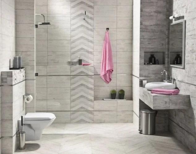 Польская керамическая плитка Tubadzin для ванной комнаты
