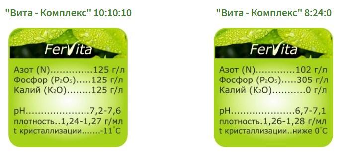 Жидкие минеральные удобрения: