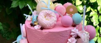 сладкий подарок ребенку в пекарне Гранайо
