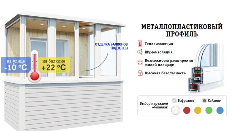 остекление балконов недорого в запорожье